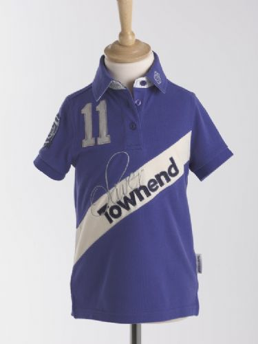 Oliver Townend Flint Limited Edition Polo Shirt in Sports Blue